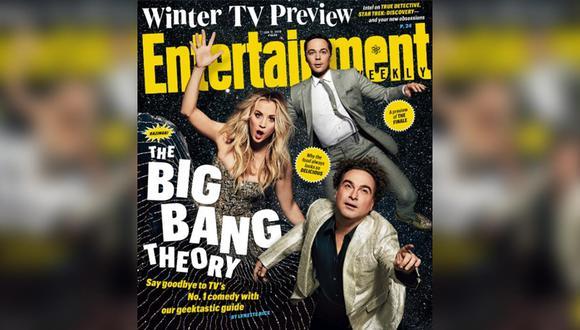 """Elenco de """"The Big Bang Theory"""" en la portada de """"Entertainment Weekly"""". (Foto: Difusión)"""