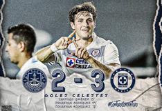 Cruz Azul se impuso 3-2 de visita ante Mazatlán en duelo por la Liga MX