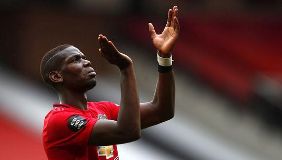 Paul Pogba se solidarizó con el movimiento contra el racismo 'Black Lives Matter'. (Foto: EFE)