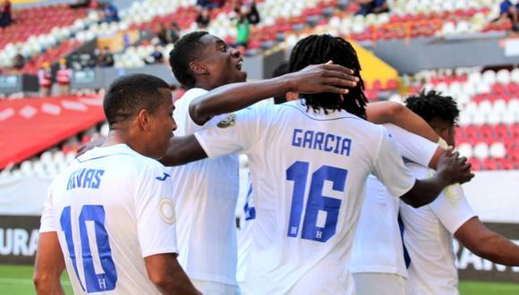 Honduras venció a USA por 2-1 en el Preolímpico Sub 23 Concacaf | Foto: @fetafuthorg