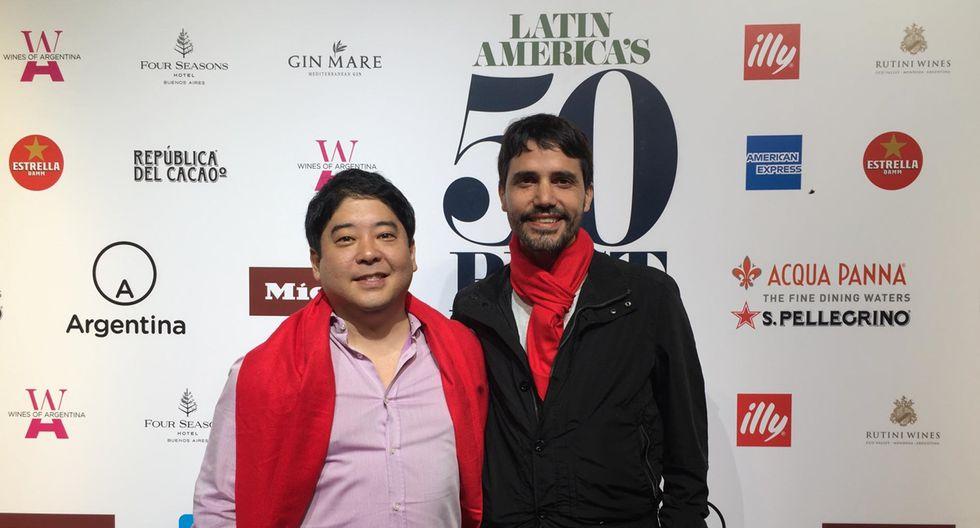 Micha Tsumura y Virgilio Martínez. (Foto: El Comercio)