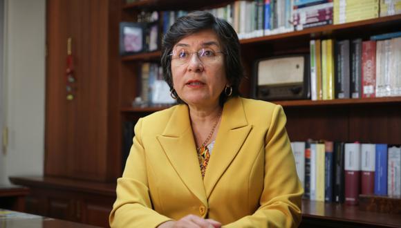 Marianella Ledesma es ponente de la demanda competencial contra la vacancia (Foto: Alonso Chero/El Comercio)