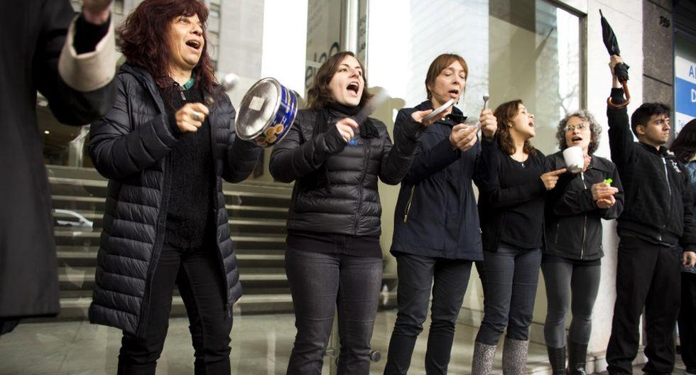 #NiUnaMenos: Mujeres en el mundo se unen al clamor de Argentina - 10