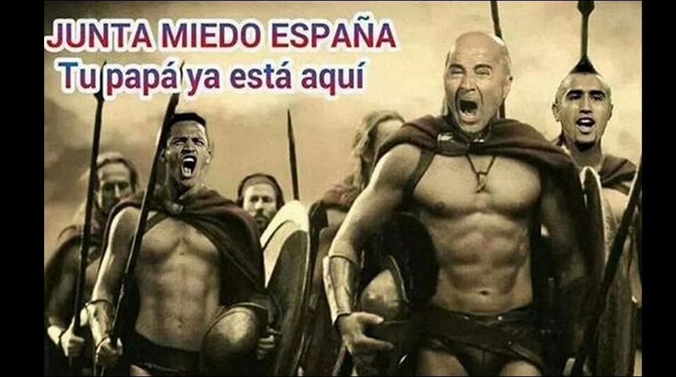 España cae y los memes se ocupan de su pronta eliminación - 1