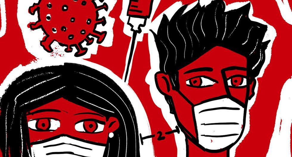 """El doctor Elmer Huerta escribe su última columna del 2020, que es la número 51 dedicada a la pandemia. """"Una señal de que, en el mundo de la ciencia, el tema de la pandemia ha sido dominante"""", recuerda.  (Ilustración: Giovanni Tazza)"""