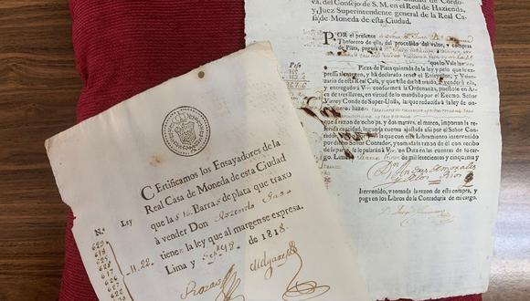 Imagen de los documentos cedidas por la Policía Nacional. (EFE/Policía Nacional).