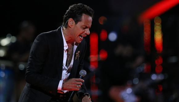 "Marc Anthony emociona a sus fans con su versión de ""A song for you"". (Foto: AFP)"