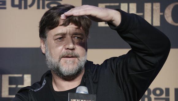 Actor Russell Crowe podría comprar club del fútbol inglés