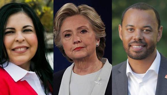Estos son tres de los integrantes del Colegio Electoral de 2020. (Extraído de BBC)