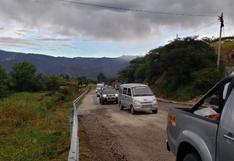 Sismo en Loreto: se restablece tránsito en carretera San Marcos – Cajabamba