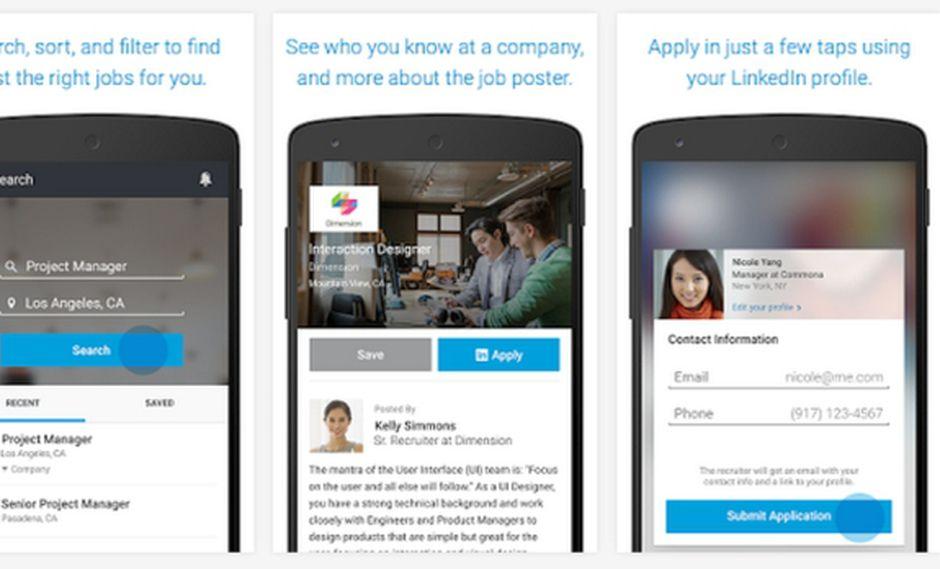 LinkedIn Job Search: aplicación ya está disponible para Android