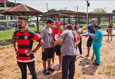 Copa Libertadores: hinchas brasileños pasan control migratorio en Madre de Dios