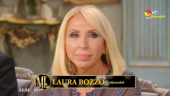 Laura Bozzo cenó con Mirtha Legrand en la TV argentina