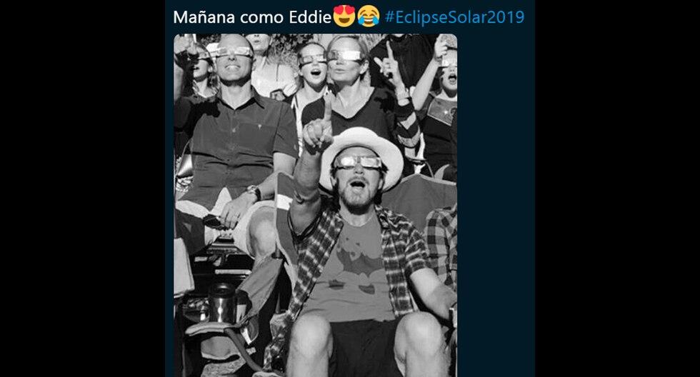 Los más divertidos memes que deja el eclipse solar total que podrá ser visto en Chile, Argentina y Perú. (Facebook y Twitter)