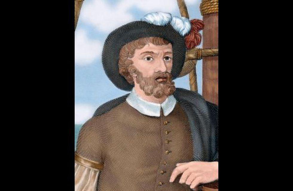 Ilustración a color de Juan Sebastián Elcano. (Getty Images).