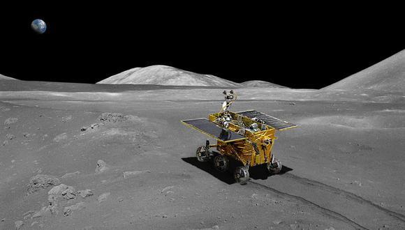 La NASA confirmó la existencia de agua en la Luna y que se almacena en forma de hielo en una multitud de microcráteres. (Difusión)