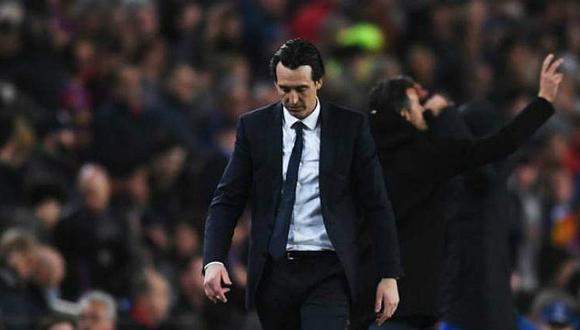 Emery, técnico del Villarreal CF, nunca ha podido ganar en el Camp Nou.