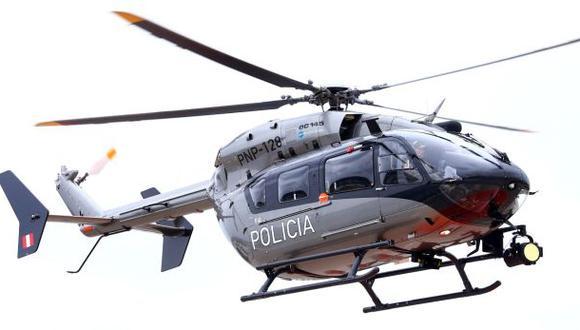 Pescador fue salvado por helicóptero de la policía en Cañete