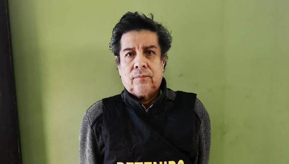 Jorge Menacho, exgerente de Infraestructura de la Municipalidad del Santa, había sido condenado a 4 años de prisión efectiva por colusión. Permanecía escondido en Chimbote (Cortesía PNP).