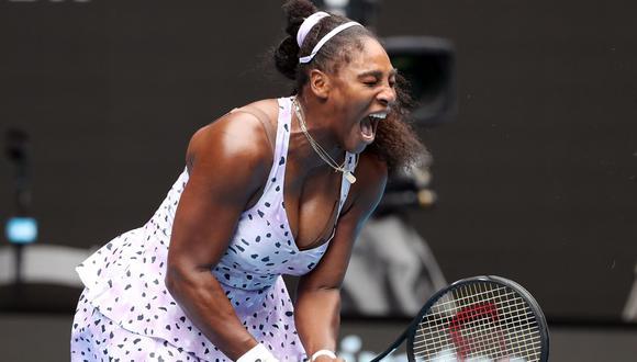 Serena Williams tendrá que esperar hasta Roland Garros para pensar en igualar los 24 Grand Slams de Margaret Court. (Foto: AFP).