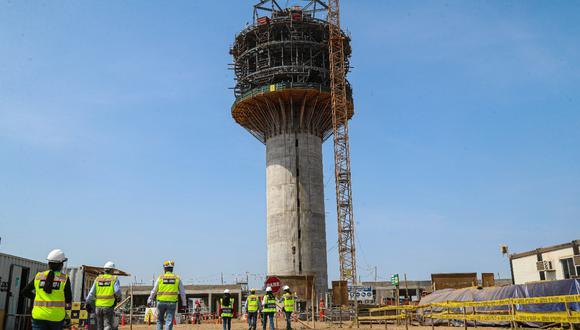 Las obras en el aeropuerto Jorge Chávez suponen una inversión de US$ 1,200 millones. (Foto: MTC)