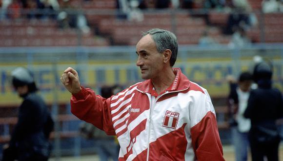 Popovic en el viejo Nacional. En 1993 fue el técnico de la selección peruana y hace unas, a los 85 años, falleció. FOTO: Archivo Histórico El Comercio.