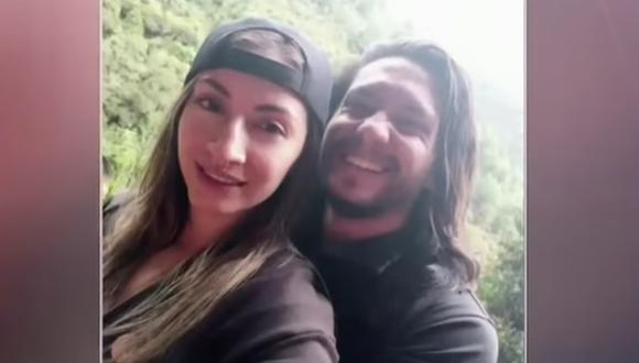 La familia y amigos de la mujer denunciaron que Miguel Camilo Parra, a quien las autoridades buscaron por dos semanas, había maltratado a Ángela Ferro en otras ocasiones. (Captura de video/YouTube).