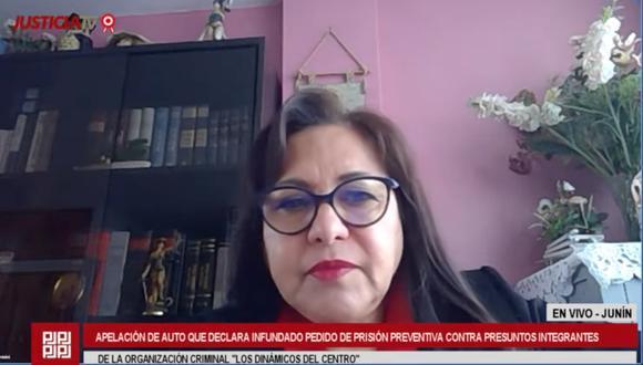 La jueza Liliam Tambini indicó que notificarán la decisión judicial a través de las casillas electrónicas de las partes implicadas en el caso. (Foto: Captura)