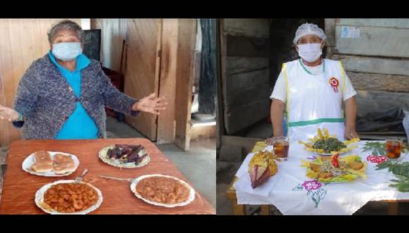 Usuarias de Pensión 65 prepararon platos ancestrales de Junín y Tacna por Fiestas Patrias (Foto: Pensión 65)