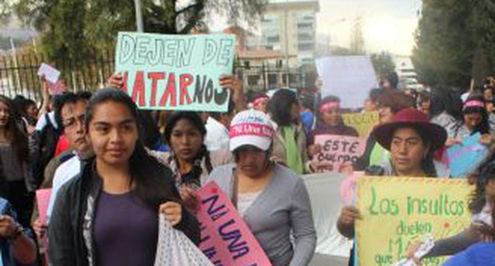 #NiUnaMenos: las movilizaciones en el interior del país [FOTOS] - 34