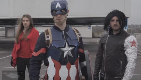 """Mira la versión 'pobre' del tráiler de """"Civil War"""" [VIDEO]"""
