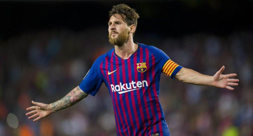 Lionel Messi colocó el 2-0 parcial del Barcelona vs. Eibar por la Liga española. Con ello, el argentino alcanzó los 400 goles en el torneo (Foto: AFP)