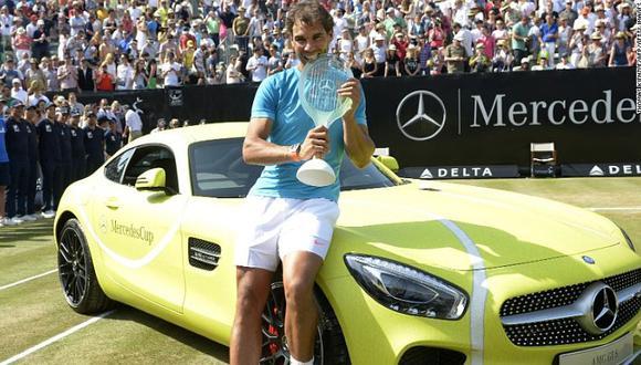 Rafa Nadal recibió un Mercedes AMG GT S y esto fue lo que dijo
