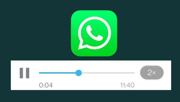 Conoce el método para activar la velocidad en los mensajes de audio de WhatsApp. (Foto: MAG)
