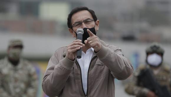El presidente Vizcarra dijo que ha dispuesto la revisión del sistema de seguridad de su despacho. (Foto: Renzo Salazar   GEC)