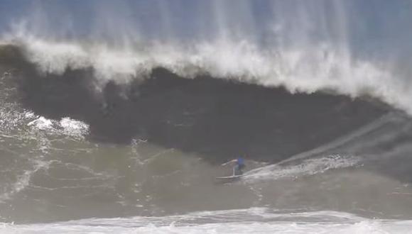 Villarán nominado al 'Mejor tubo del año' por esta brutal ola