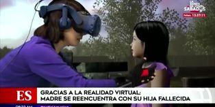 Madre se encuentra con su hija fallecida a través de realidad virtual