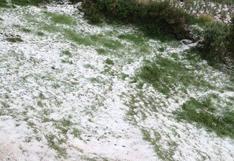 Cusco: 10 hectáreas de cultivos son dañadas por intensa granizada en comunidades altoandinas