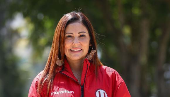 Sonia Alva lidera la administración de Universitario de Deportes desde agosto del 2020. El próximo administrador se conocerá en una Junta de Acreedores de urgencia. (Foto: AFP)