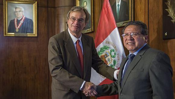 Basombrío y Sánchez se comprometieron a enfrentar inseguridad