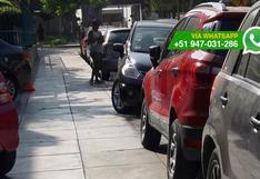 Parqueadores seguirían utilizando calles de San Isidro [FOTOS]