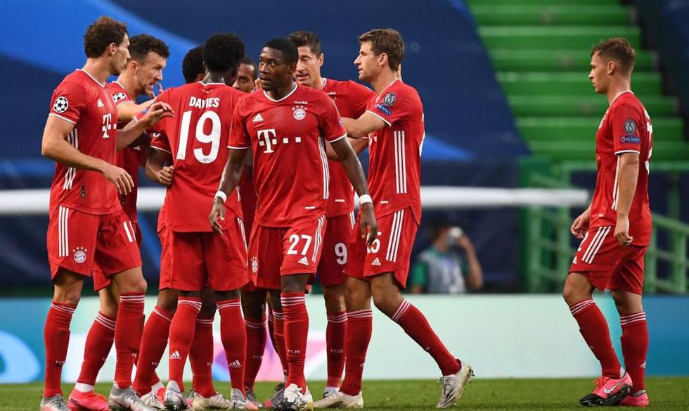 Bayern vs. Lyon (AP)