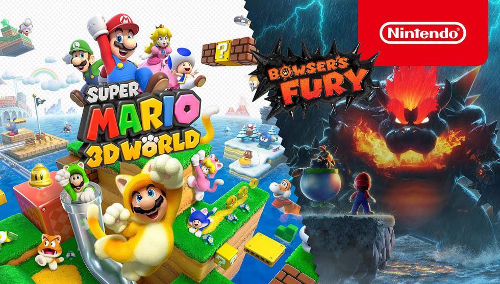 Super Mario 3D World + Bowser's Fury se lanza el 12 de febrero. (Difusión)