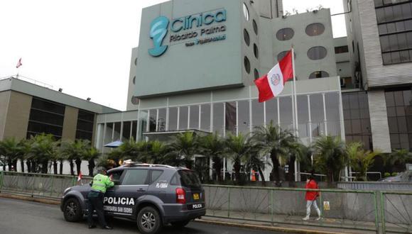 Los hijos de Victoria Aguirre Oviedo atacaron con explosivos la clínica Ricardo Palma el último martes. (Trome)