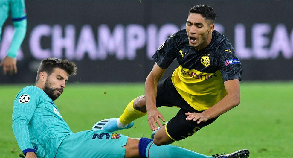 Barcelona recibe a Borussia Dortmund en el Camp Nou por la quinta fecha de la Champions League. (AFP)