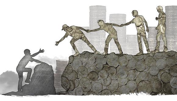 """""""Si existe una confianza mutua entre las personas que tienen que trabajar juntas en una empresa, el costo operativo de ese negocio será menor""""."""