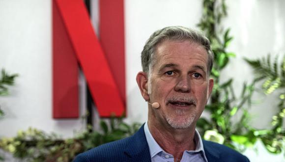 """Reed Hastings, CEO y fundador de Netflix, sobre su libro: """"Espero que tenga un buen efecto en muchas empresas"""". (Foto: AFP/Christophe Archambault)"""