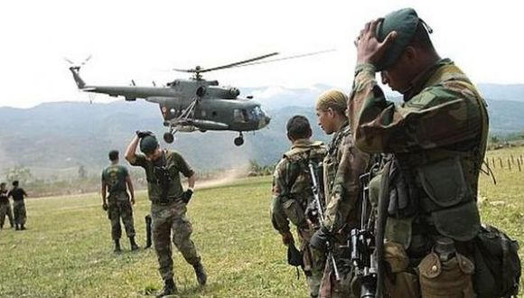 Vraem: terroristas atacan base militar de Mazángaro