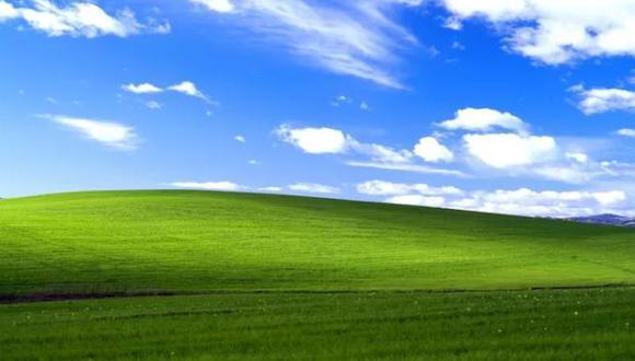 """'Bliss' (conocida en España y América Latina como """"Felicidad"""") se hizo popular en Windows XP al ser vista por más de mil millones de personas. (Foto: Windows)"""