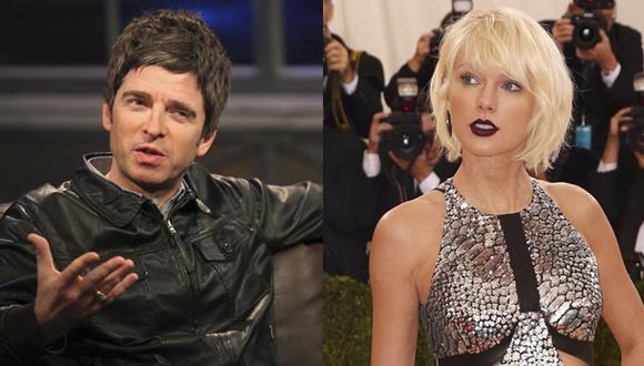 Noel Gallagher se pronuncia sobre Taylor Swift. (Fotos: Agencias)